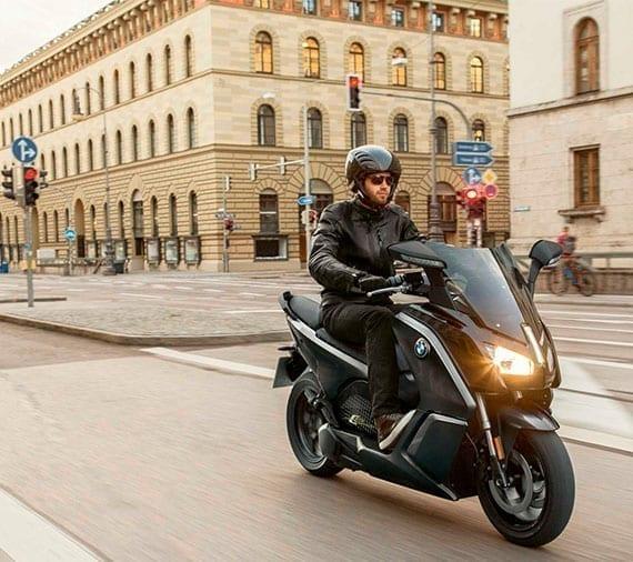 Moto Gama C de BMW