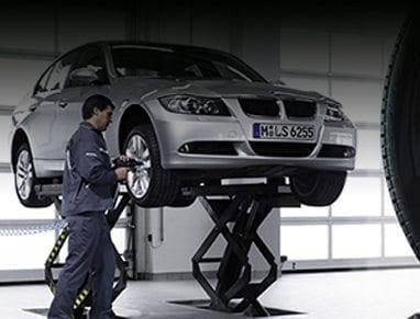 Reparación o mantenimiento de su BMW