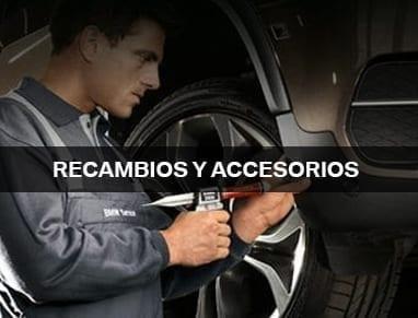 Recambio y accesorios para tu BMW